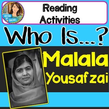 Who Is Malala Yousafzai?  Reading Activities