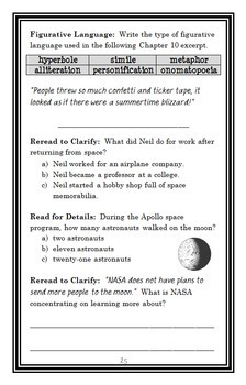Who Was Neil Armstrong? (Roberta Edwards) Book Study / Comprehension  (30 pages)