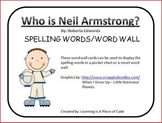Who Is Neil Armstrong Spelling Cards