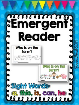 Emergent Reader - Who Is On The Farm?