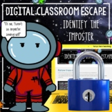 """""""Who Is The Imposter Among Us Students?"""" Digital Escape Room Math"""