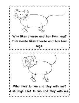 Who Is This? Sight Word Emergent Reader
