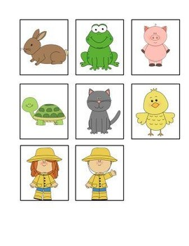 Who Is Under The Umbrella?  A preposition interactive book