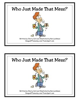Who Just Made That Mess? Guided Reader (-ade and -ess Word