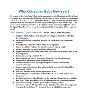 Who Kidnapped Baby New Year? - CER