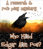Project based learning: Who Killed Edgar Allen Poe