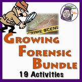 Super Saver GROWING Bundle - Forensic Science - 31% Savings on 18 Activities!