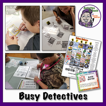 Super Saver GROWING Bundle - Forensic Science - 31% Savings on 18 Activities!