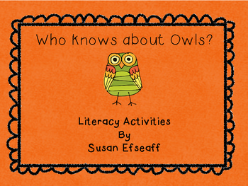 Who Knows About Owls?