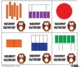 Who Knows Fraction Sorting Card Game - 1 and 1/2 Fractions Version