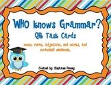 Who Knows Grammar QR Task Cards