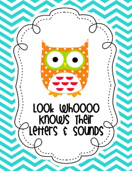 Who Knows Their Letters and Sounds Sign