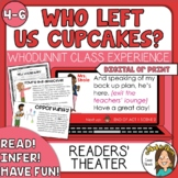 Who Left Us Cupcakes? Valentine's Activities-  MYSTERY Rea