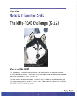 Who Let the Dogs Out?!  An Idita-READ Challenge