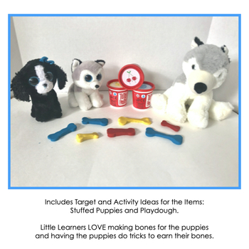 Who Let the Dogs Out?: Play-dough and Puppies Activity Companion