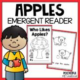 Apple Emergent Reader for Kindergarten