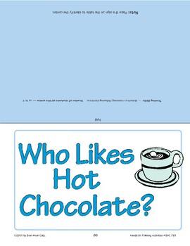 Who Likes Hot Chocolate?