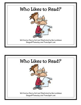 Who Likes to Read? Guided Reader (-ead, -ike, -ime Word Families)