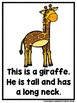 Who Lives At The Zoo?  (A Sight Word Emergent Reader)