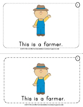 Mini Reader FREE - Who Lives On a Farm?