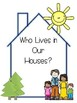 Who Lives in Our House Class Book for K-2