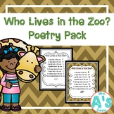 Who Lives in the Zoo Shared Reading Set
