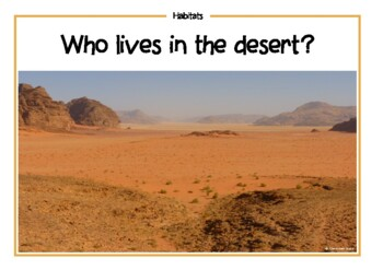 Who Lives in this Habitat?