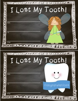 Who Lost a Tooth Classroom Display Set