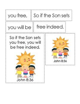 Who Owns the Sun? Bible Verse Printable (John 8.36)