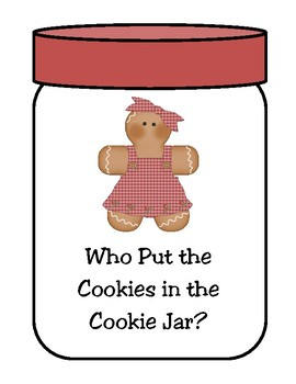 Who Put the Cookies in the Cookie Jar? Counting  Activity