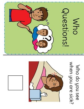 Who Questions Adapted Book