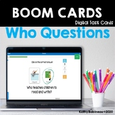 Who Questions Boom Cards - Occupations