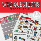 Who Questions - Foundations Kit (including BOOM™ Cards)