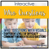 Who Questions: Interactive