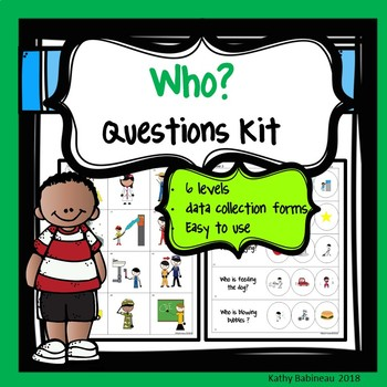 Who Questions Kit
