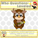 Who Questions