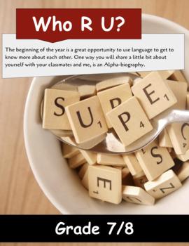 Who R U? An Alphabiography Assignment