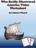 Who Really Discovered America Video Worksheet (Simple and Solid Lesson Plan)