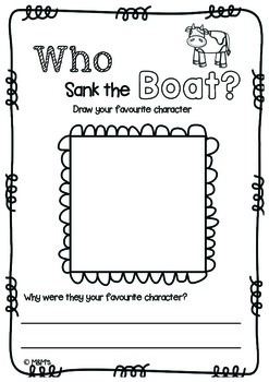 Who Sank the Boat? Literacy & Numeracy Pack