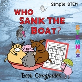 Sink the Boat - Simple STEM Book Companion (Home Friendly)