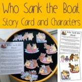 Who Sank the Boat- Story Card and Characters