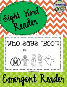 Who Says 'Boo'? Interactive Emergent Reader