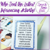 Who Sent The Letter (inferencing)
