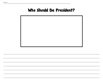 Who Should Be President? Worksheet
