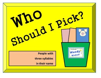 How to select a student cards:  Who Should I Pick?