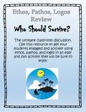 Who Should Survive? Ethos, Pathos, Logos Worksheet