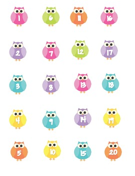 Who Shows Good Character Owls and Dots