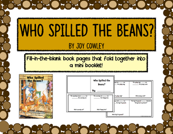 Who Spilled the Beans? - retelling activity