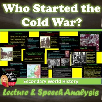 cold war analysis The big picture: who, what, when, where & (especially) why in 1945, the united states and soviet union were allies, jointly triumphant in world war ii, which ended with total victory for.