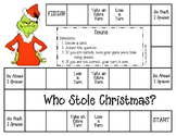Who Stole Christmas Game
